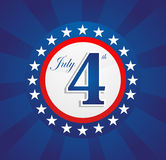 USA dnia niepodległości tło Obraz Stock