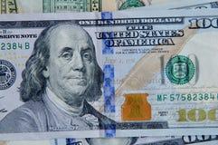USA dolarów rachunki Obraz Stock
