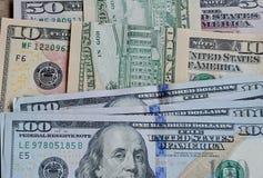 USA dolarów rachunki Zdjęcie Royalty Free