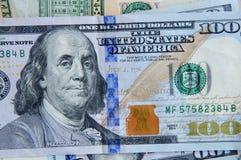 USA dolarów rachunki Zdjęcia Royalty Free