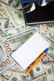 USA dolarów tło Zdjęcie Stock