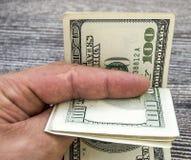 USA dolary, usa $ 100, 100 dolarowi obrazków, wielkich dolarów obrazki w różnych pojęciach dla finanse i zapasu exchang, starzy i Fotografia Stock