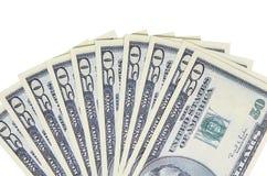 USA dolary, pojęcie łapówki i korupcja, fotografia royalty free