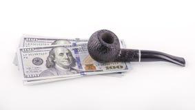 USA dolary z drymbą zdjęcie stock