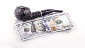 USA dolary z drymbą obraz royalty free