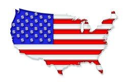 USA dollar royaltyfria foton