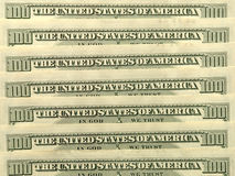 USA dollar banknotes. Royalty Free Stock Image