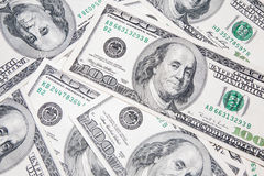 USA-dollar för amerikan 100 Royaltyfri Bild