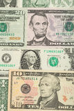 USA dollar money banknotes background Stock Photo