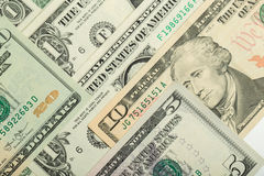 USA dollar money banknotes texture background Royalty Free Stock Images