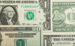 USA dollar money banknotes texture background Stock Photography