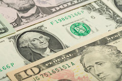 USA dollar money banknotes texture background Stock Photo