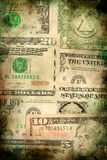 USA dollar money banknotes texture grunge background Stock Photo