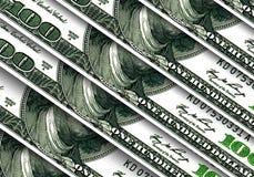 USA dollarbakgrund Royaltyfri Fotografi