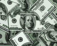 USA dollarbakgrund Arkivbild