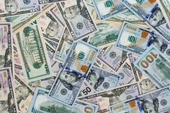 USA-Dollargeldhintergrund Lizenzfreie Stockfotos