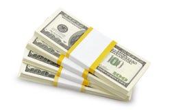 USA dollars isolated Stock Photography