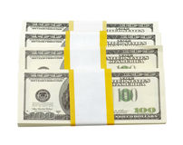 USA dollars isolated Royalty Free Stock Photo