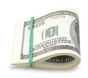 USA dollars isolated Royalty Free Stock Photos
