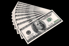 USA dollars money background. Royalty Free Stock Images