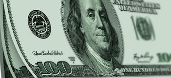 USA dollars. Some banknote of USA dollars.background Stock Photography