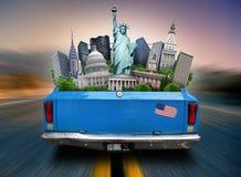 USA dragningar USA arkivfoton