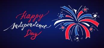 USA dzień niepodległości Zdjęcia Royalty Free