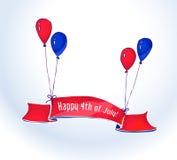USA dzień niepodległości Fotografia Stock