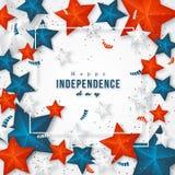 USA dzień niepodległości zdjęcie royalty free