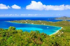 USA Dziewicze wyspy Zdjęcia Royalty Free