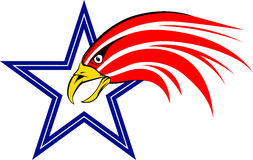 USA eagle royalty free illustration