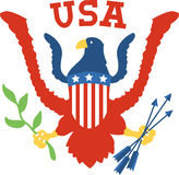 USA Eagle Crest Royalty Free Stock Photos