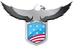 Usa eagle shield Royalty Free Stock Photos