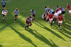 USA Eagles vs Uruguay National Rugby Game Royalty Free Stock Image