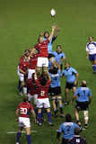 USA Eagles vs Uruguay National Rugby Game Stock Photography