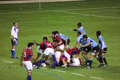 USA Eagles vs Uruguay National Rugby Game Stock Photos