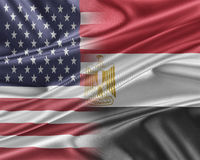 USA and Egypt. Royalty Free Stock Image