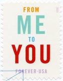 USA - 2015: eingeweiht von mir Ihnen, Zeremonie-Programm Lizenzfreies Stockbild
