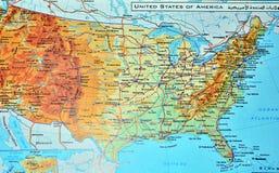 USA einzeln aufgeführt mit Stift Washington stockfotografie