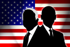 USA Election 2008. USA election the two candidates Stock Photography