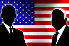USA Election 2008. USA election the two candidates Stock Photo