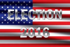 USA election 2016 background Stock Photo