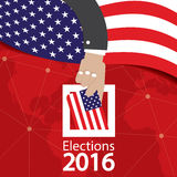 USA Election Concept. USA Election Concept Vector Illustration Stock Image