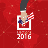 USA Election Concept. USA Election Concept Vector Illustration Stock Images