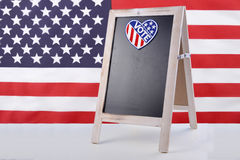 USA Election Notice Board Stock Photo