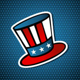 USA elections american hat Stock Photo