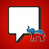 USA elections: Republican politic message royalty free illustration