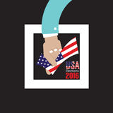 USA Elections Vote 2016 Concept. USA Elections Vote 2016 Concept Vector Illustration Stock Photos