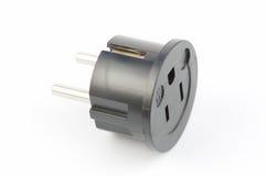 usa elektryczny adaptor euro Fotografia Stock