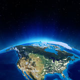 USA. Elements of this image furnished by NASA Royalty Free Stock Images